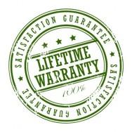 Levenslange garantie